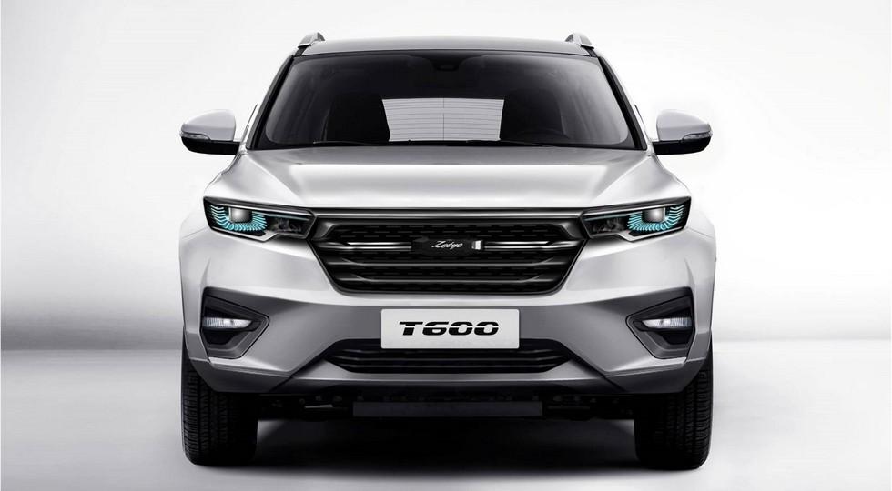 Кроссовер Zotye T600 нового поколения появится на рынке 10 октября